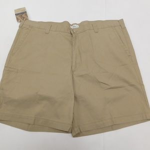 Dockers 46 Beige Casual Shorts Relaxed Fit Cotton